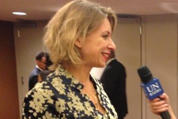 Мария Захарова. Фото Радио ООН