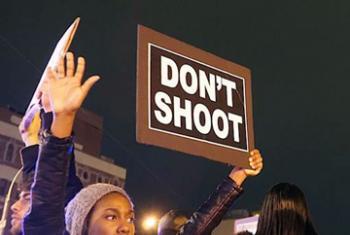 Протесты против расовой дискриминации. Фото ООН