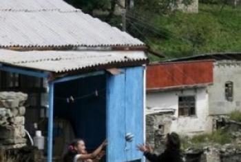 Девочки в Дагестане. Фото «Хьюман Райтс Вотч»