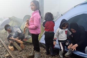 Дети-беженцы. Фото ЮНИСЕФ