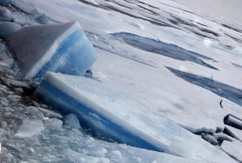 Полярные льды. Фото ООН