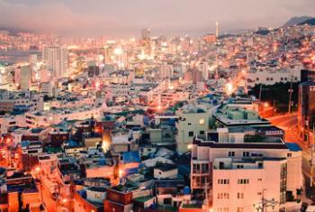 Город Пусан. Фото ООН