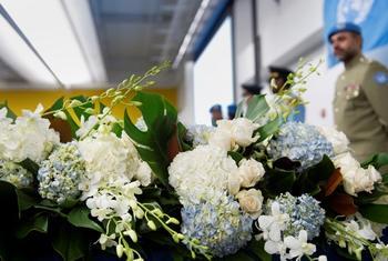 Почтение памяти погибших. Фото ООН