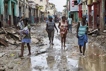Последствия урагана Мэтью в г. Жереми, Гаити. Фото ООН