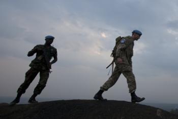 Миротворцы в городе Гома. Фото ООН