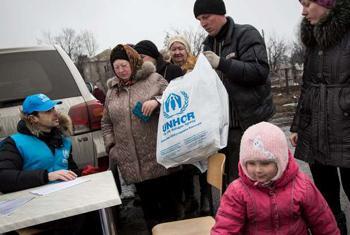 Помощь ООН жителям Восточной Украины. Фото УВКБ