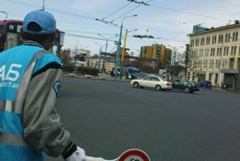 Дороги с твердым покрытием. Фото ООН