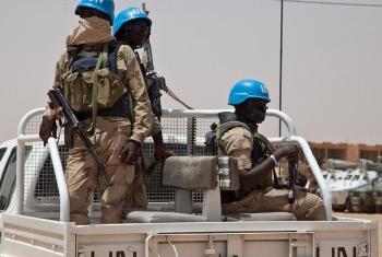 Миротворцы ООН в Мали. Фото МИНУСМА