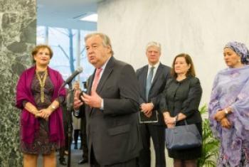 Генеральный секретарь ООН Антониу Гутерриш Фото ООН