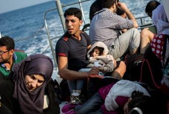 Мигранты прибывают в Европу по морю. Фото УВКБ/А.МакКоннелл