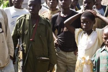 Детям не место на войне. Фото ООН/ М.Фрешон