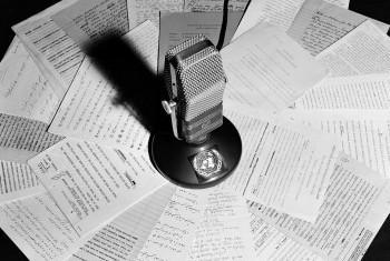 Радио ООН, 1950 г. Фото ООН