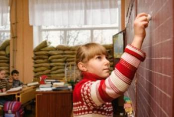 Школы в Авдеевке. Фото ЮНИСЕФ