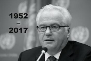Виталий Чуркин. Фото со страницы Постпредства РФ при ООН.
