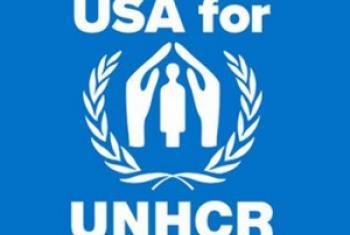 Логотип неправительственной организации «Соединенные Штаты в поддержку Управления ООН по делам беженцев»