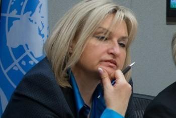 Ирина Луценко. Фото ООН
