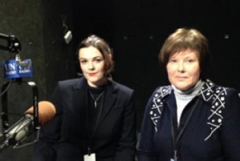 Ольга Дунебабина и Катерина Левченко. Фото ООН