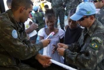 Миротворцы ООН в Гаити. Фото ООН