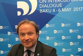 Основатель организации «Глобальный компас» Жан-Кристоф Ба. Фото ООН