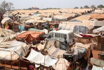 Участок защиты гражданского населения, Вау, Южный Судан.Фото ООН/Нектариос Маркоджианнис