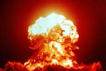 Ядерные испытания. Фото ООН