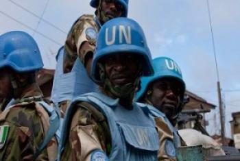 Миротворцы ООН. Фото ООН