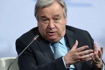 Генеральный секретарь Антониу Гутерриш. Фото ООН