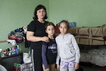Украинские переселенцы. Фото УВКБ ООН