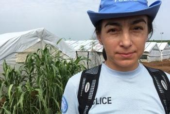 Анна Ходос. Фото UNPOL