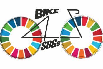 Логотип велопробега в поддержку ЦУР. Фото ООН
