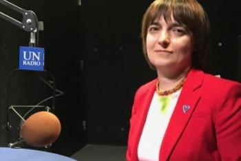 Наталья Федорович. Фото Службы новостей ООН