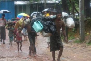 Беженцы из Мьянмы ищут спасения в Бангладеш Фото УВКБ