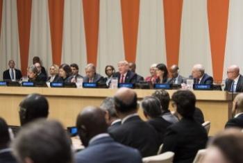 На заседании по реформированию ООН. Фото ООН