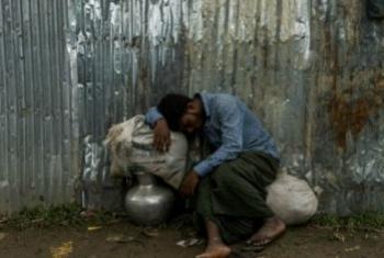 Беженец из Мьянмы в лагере в Бангладеш. Фото УВКБ