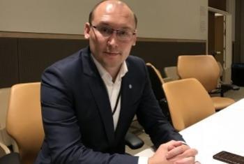 Никита Лушников. Фото Службы новостей ООН