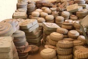 Мины. Архивное фото ООН