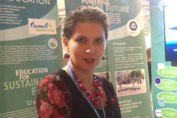 Ольга Плямина. Фото Службы новостей ООН