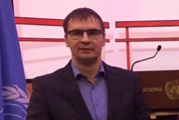 Олег Басалеев. Фото Службы новостей ООН