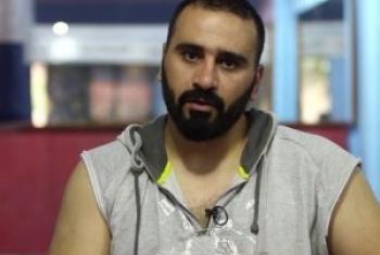 Амир аль-Авад. Фрагмент видео ТВ ООН