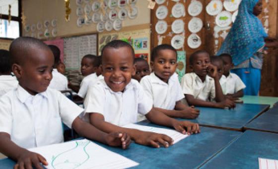Elimu ni mojawapo ya haki za watoto. Picha ya UNICEF Tanzania / Robin Baptista