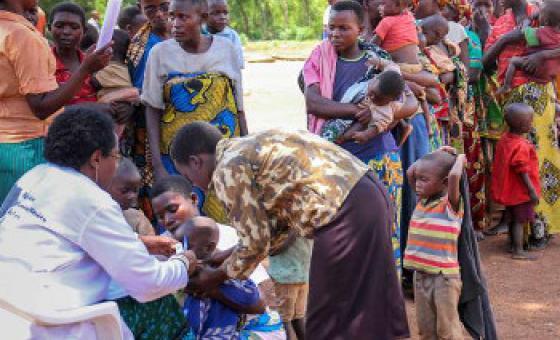 Kwa mujibu wa UNICEF. wengi wa watu waliotafuta hifadhi Rwanda ni watoto. Picha ya UNHCR Rwanda / S. Masengesho