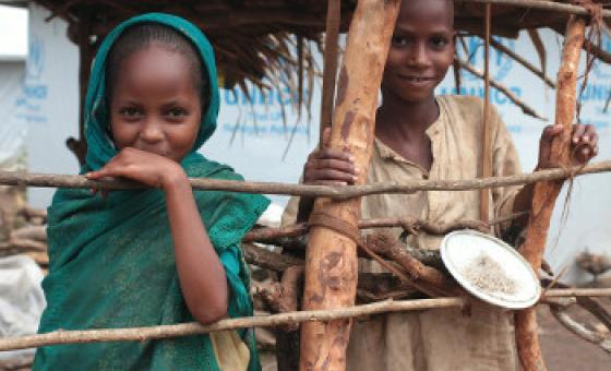 Wakimbizi ambao wamekimbia machafuko nchini Cameroon.(Picha:OCHA/John James.)