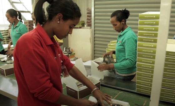Sekta ya uzalishaji nchini Ethiopia.(Picha:World Bank/video capture)