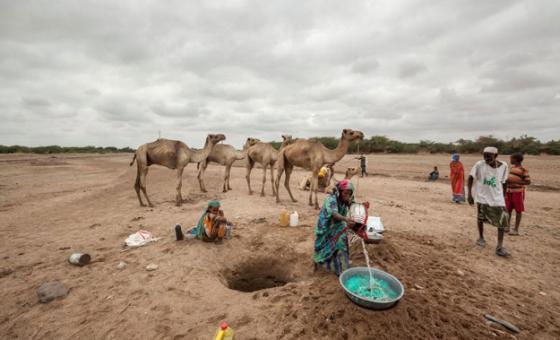 Ukame nchini Somalia picha na :WFP/Petterik Wiggers