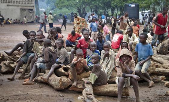 Watoto wakimbizi Uganda. Picha: UM