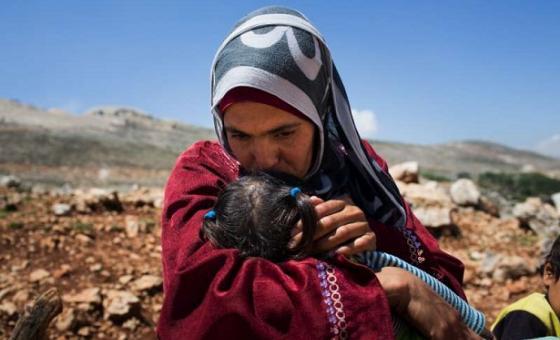 Mama mkimbizi kutoka Syria aliyekimbilia Lebanon.(Picha:UNHCR/A.McConnell)
