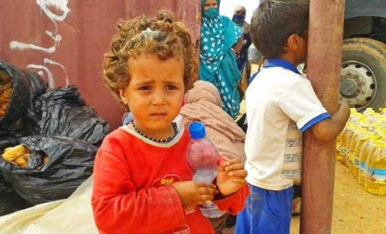 Wakimbizi nchini Algeria. Picha:WFP/Algeria