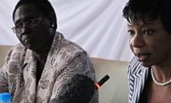 Viongozi katika uzinduzi wa kampeni ya kutokomeza unyanyasaji na ukatili wa kingono SEA mwaka 2013. Picha: UNMISS (maktaba)