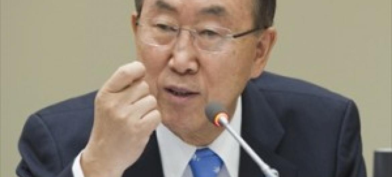 Katibu Mkuu wa Umoja wa Mataifa, Ban Ki-moon (Picha ya UM)