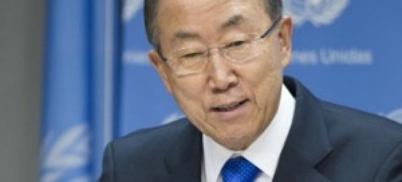 Katibu Mkuu wa UM Ban Ki-Moon. (Picha:UM)
